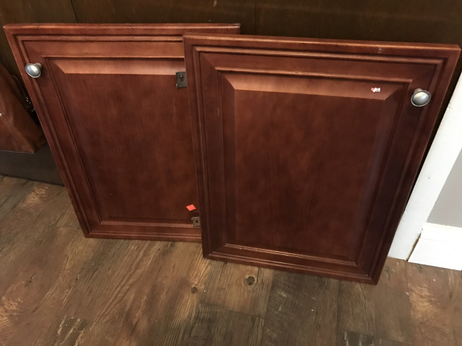 I love finding cabinet doors! See what I did with these!