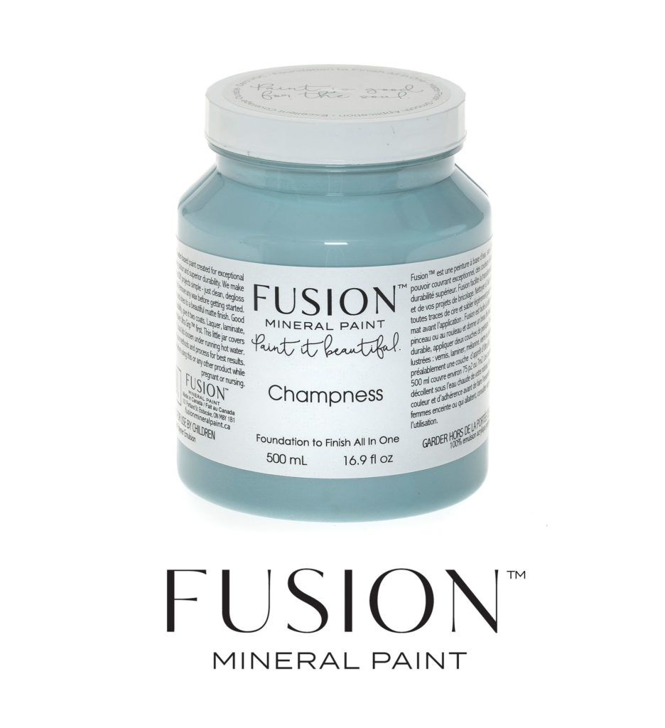 Fusion Mineral Paint Champness Redeemed Decor