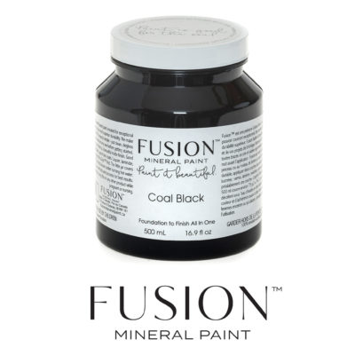 Fusion Mineral Paint - Coal Black (Pint)
