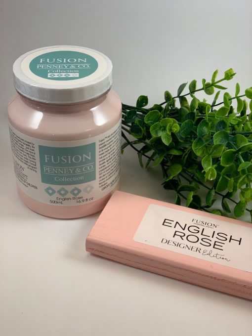 Fusion Mineral Paint English Rose