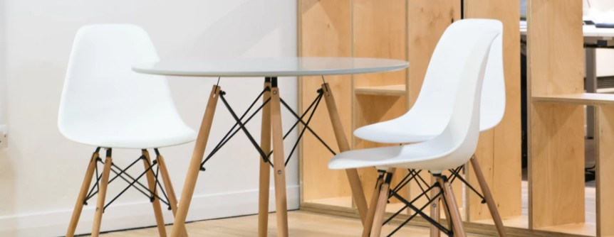 Scandinavian table and chairs