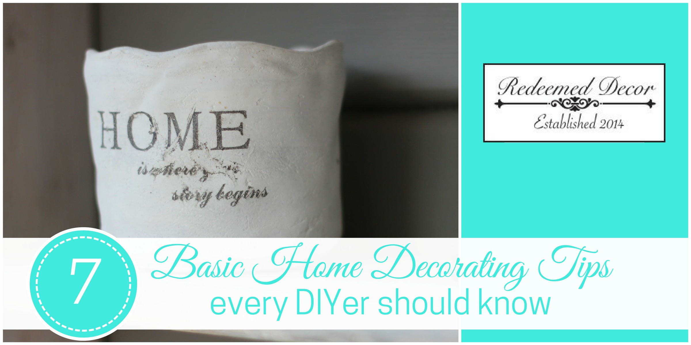 7 basic home decorating tips every diyer should know