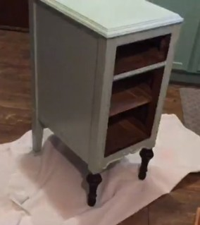 Antique Nightstand without drawers