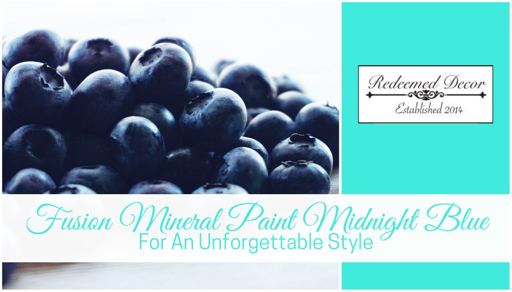 "Featured image for ""Fusion Mineral Paint Midnight Blue: For An Unforgettable Style"" blog post"