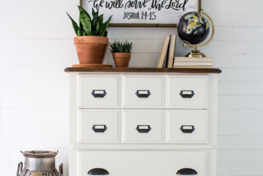 Refurbished dresser by The Driftwood Home