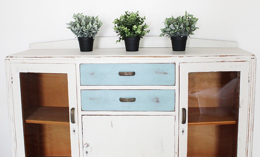 Painted vintage dresser by Raggedy Bits