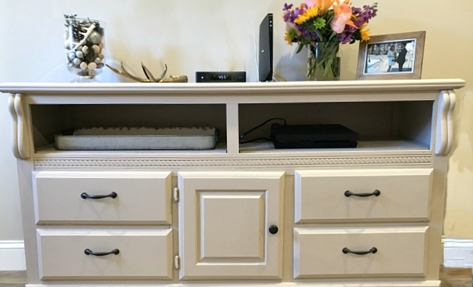 Dresser repurposed and repainted by Homeroad