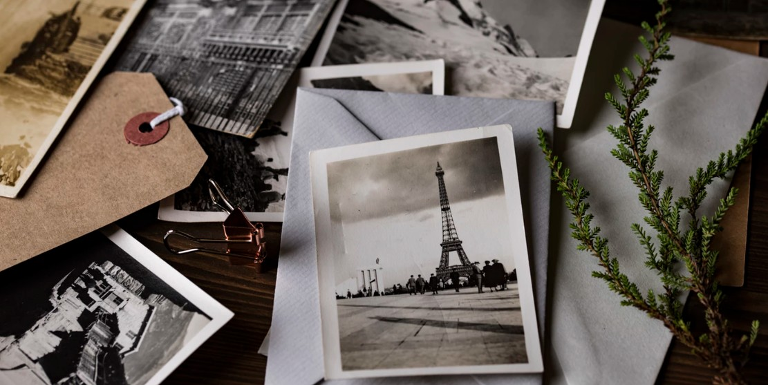 Antique collection of photos