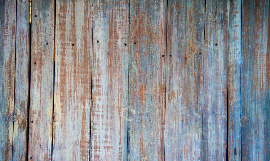 Old rustic wood with blue tones