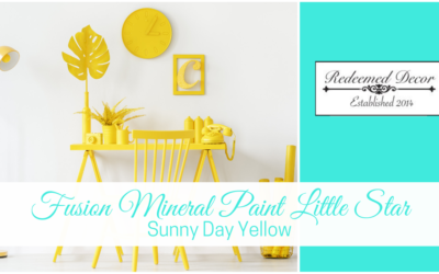 Fusion Mineral Paint Little Star: Sunny Day Yellow