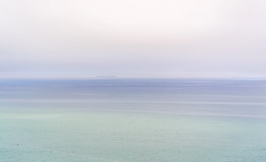 Tranquil colors from the horizon