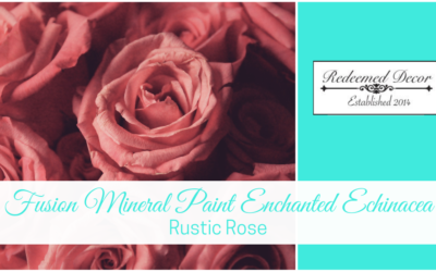 Fusion Mineral Paint Enchanted Echinacea: Rustic Rose
