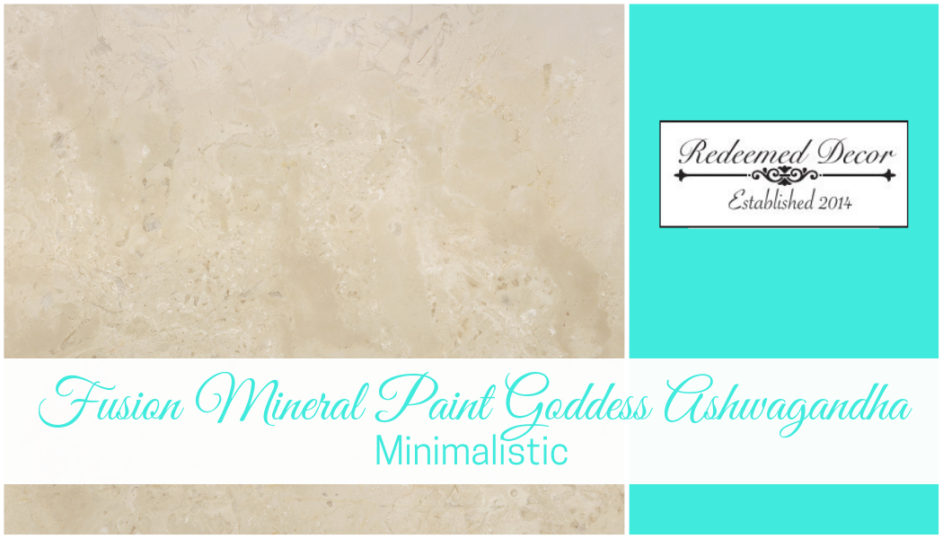 "Featured image for ""Fusion Mineral Paint Goddess Ashwagandha_ Minimalistic"" blog post"