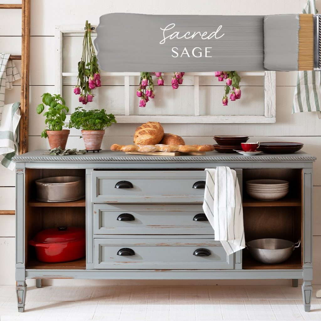 Lightly weathered buffet