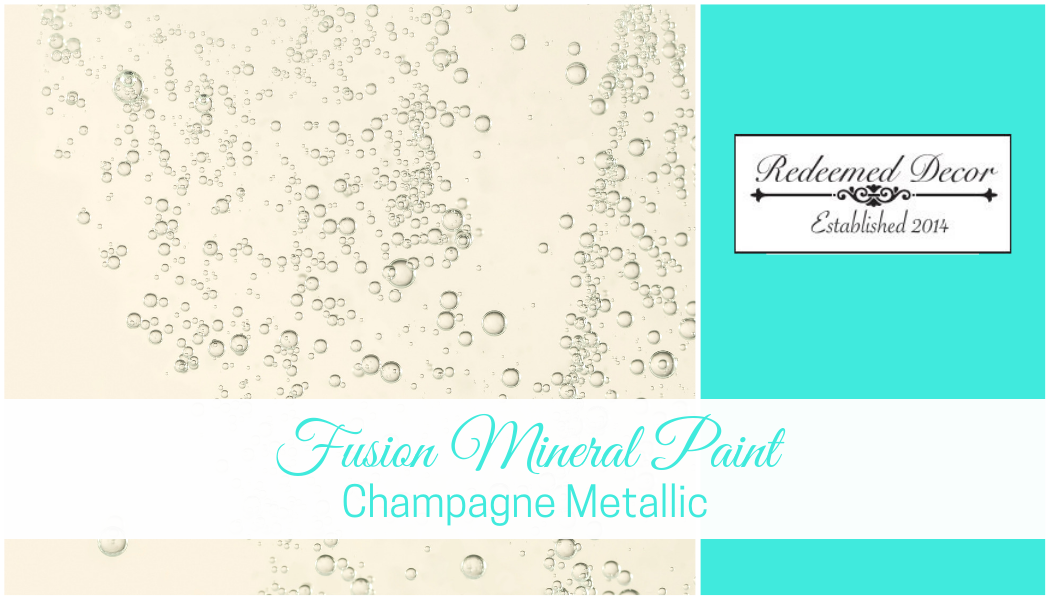 "Featured image for ""Fusion Mineral Paint Champagne Metallic"" blog post"