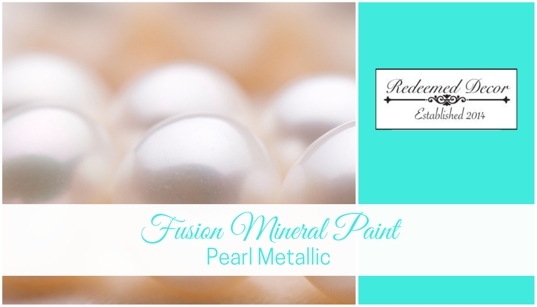 Fusion Mineral Paint Pearl Metallic